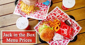 Jack in the Box Menu Prices