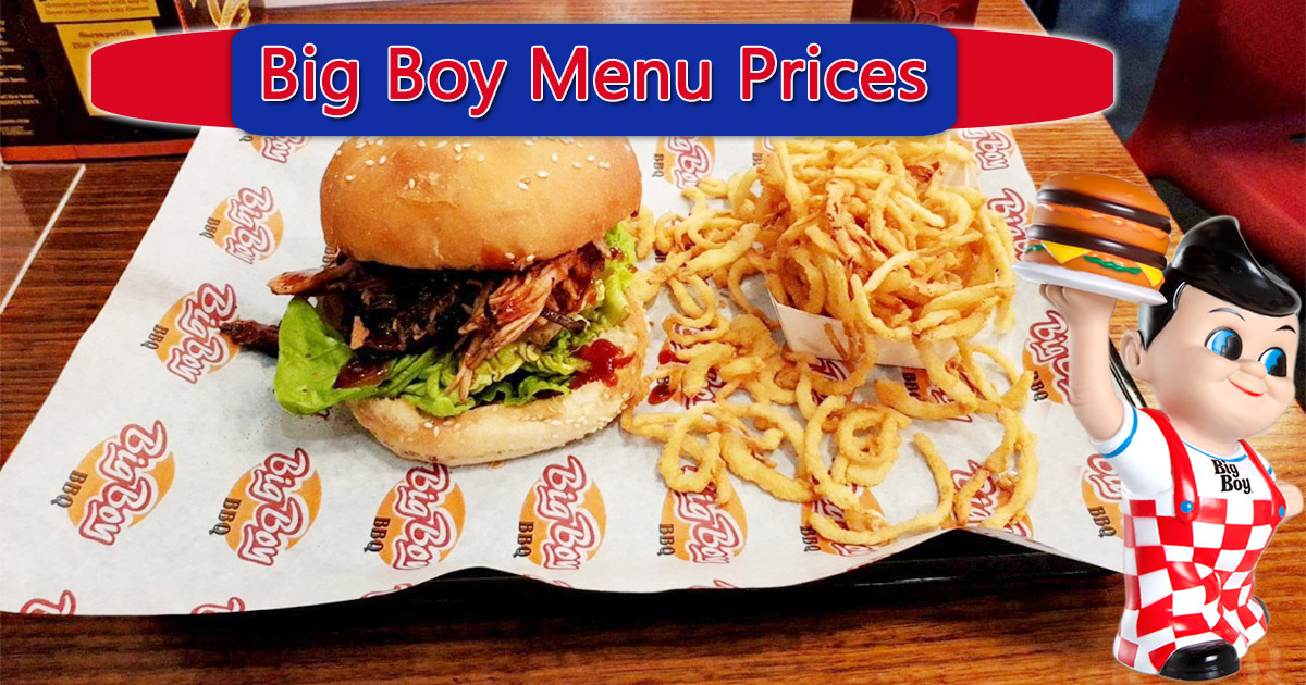 Big Boy Menu Prices