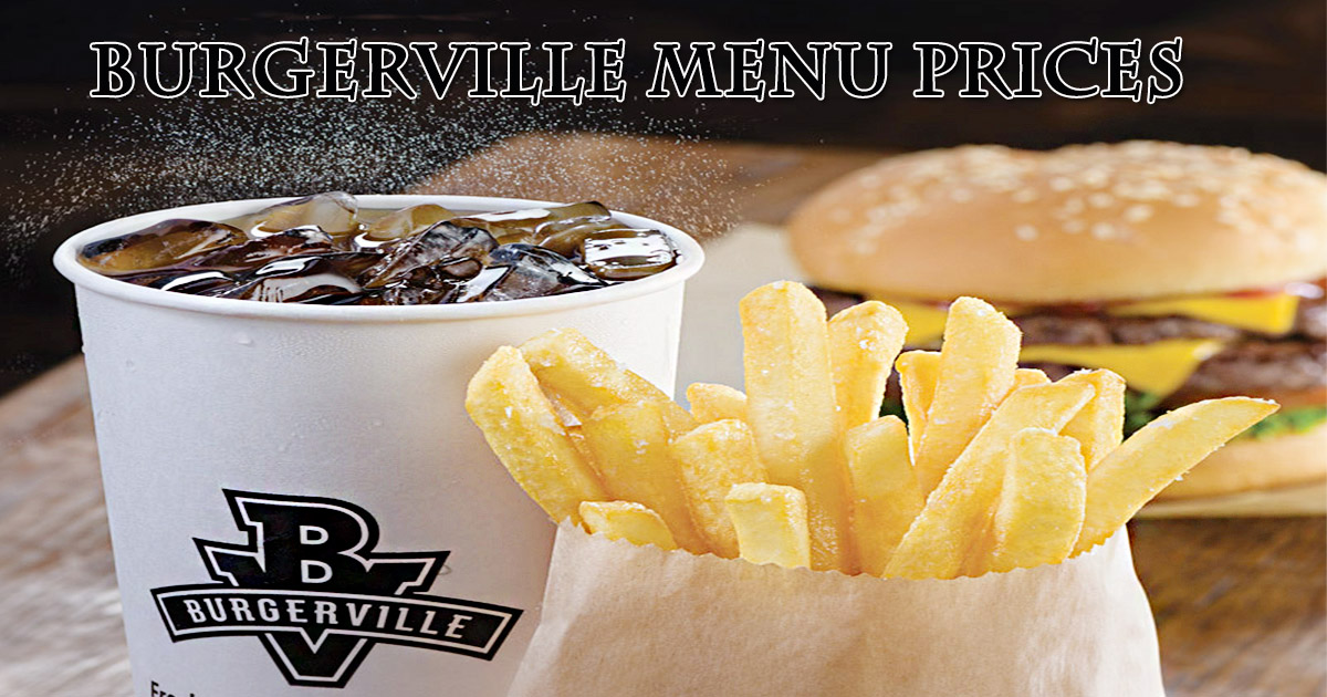 Burgerville Menu Prices