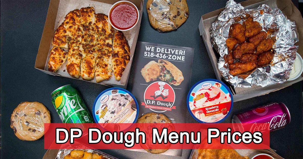 DP Dough Menu Prices