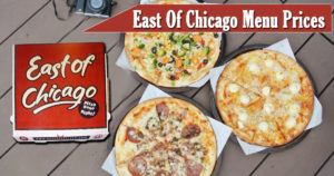 East of Chicago Menu Prices