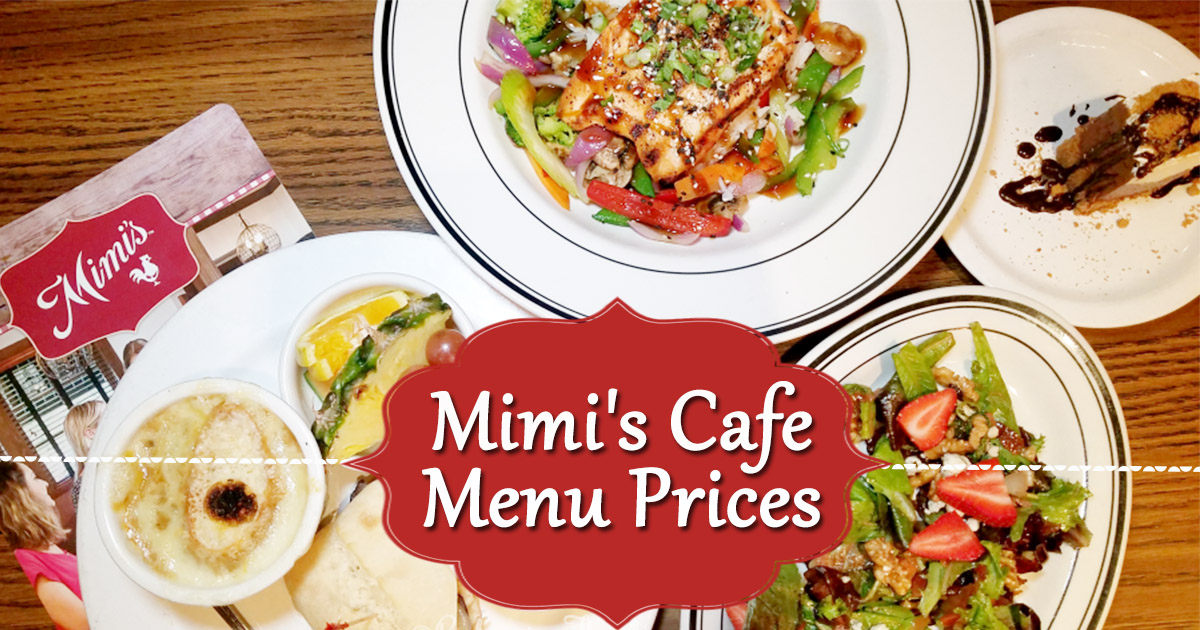Mimi's Cafe Menu Prices