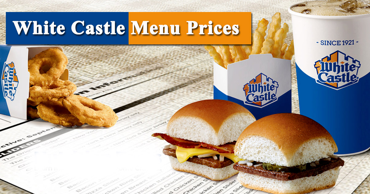 White Castle Menu Prices