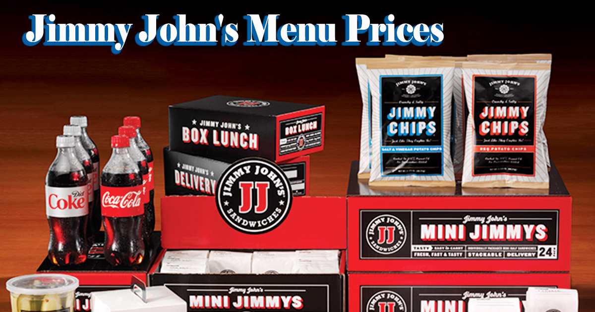 Jimmy John's Menu Prices