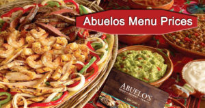 Abuelos Menu Prices