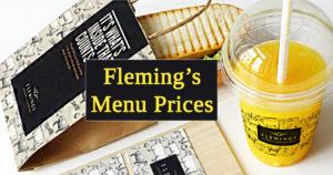 Fleming's Menu Prices