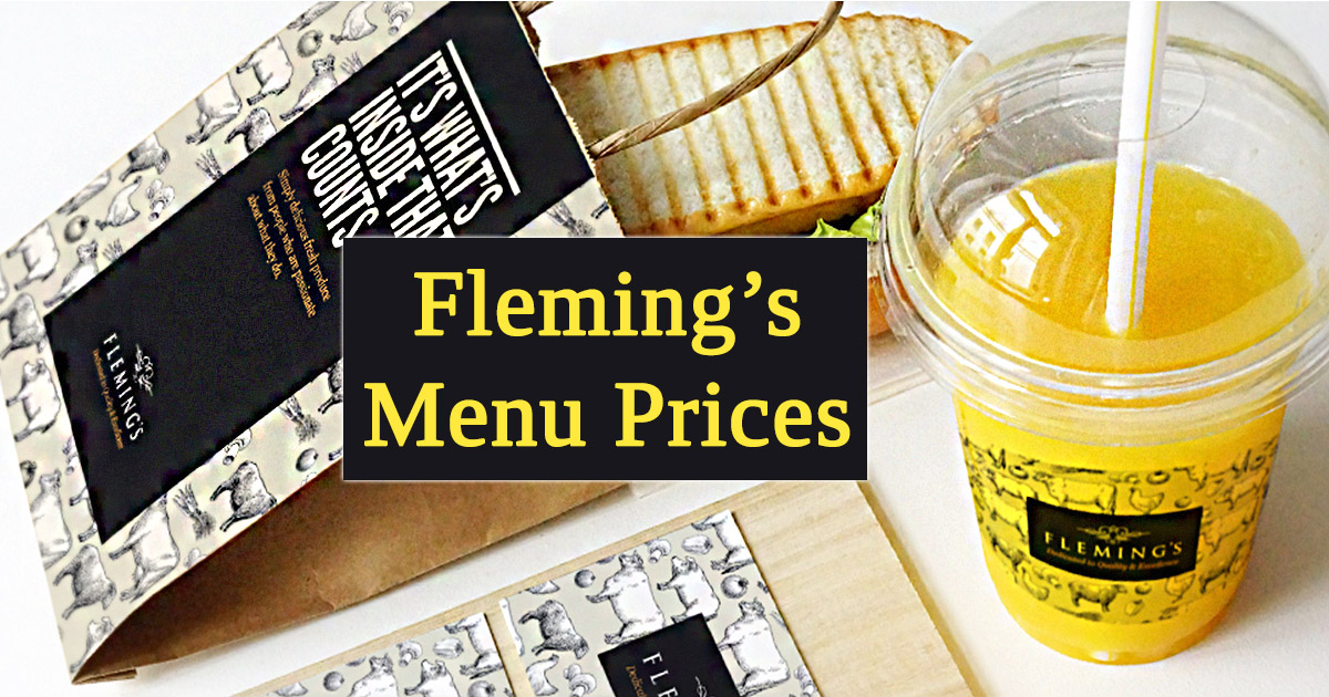 Fleming's Menu Prices