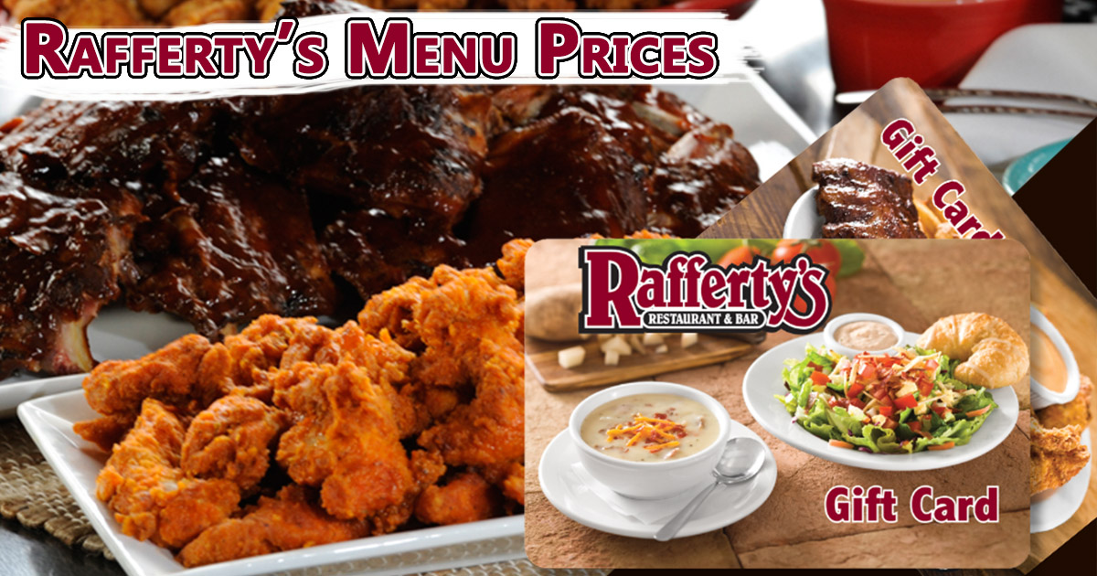 Rafferty's Menu Prices