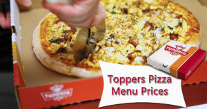 Toppers Pizza Menu Prices