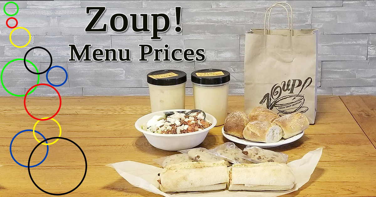 Zoup Menu Prices