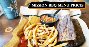 Mission BBQ Menu Prices