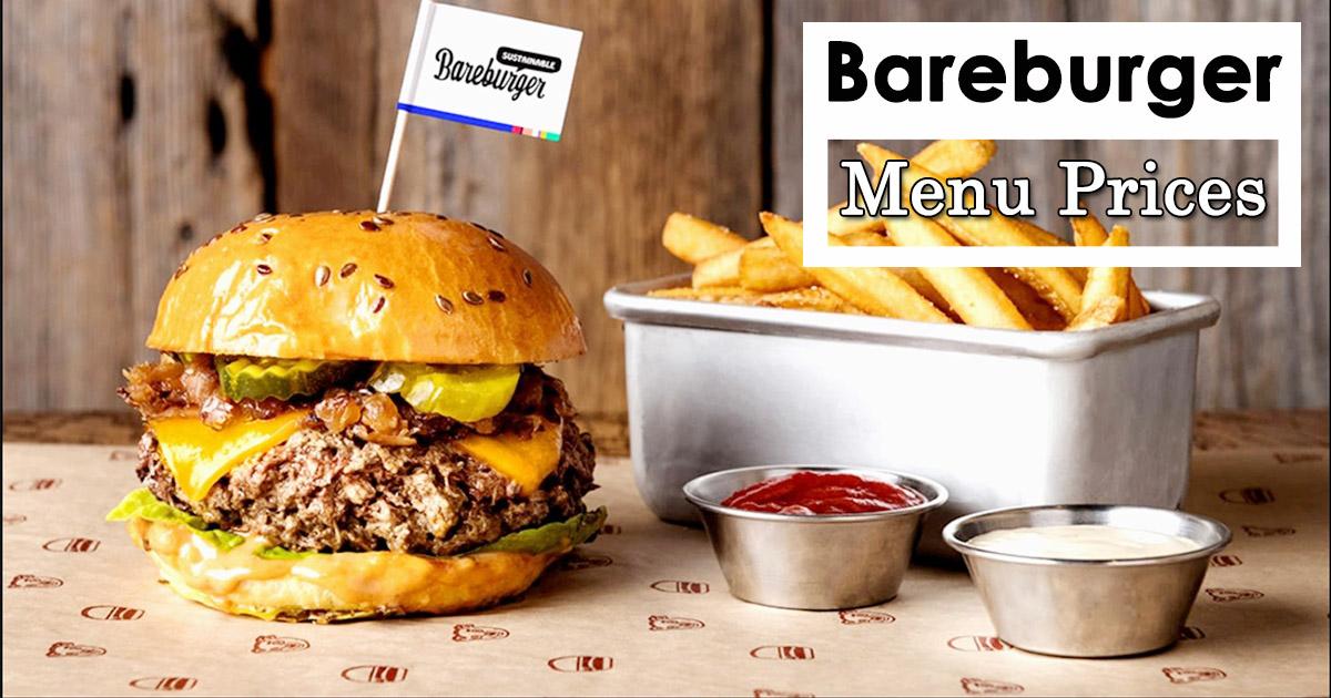 Bareburger Menu Prices Image