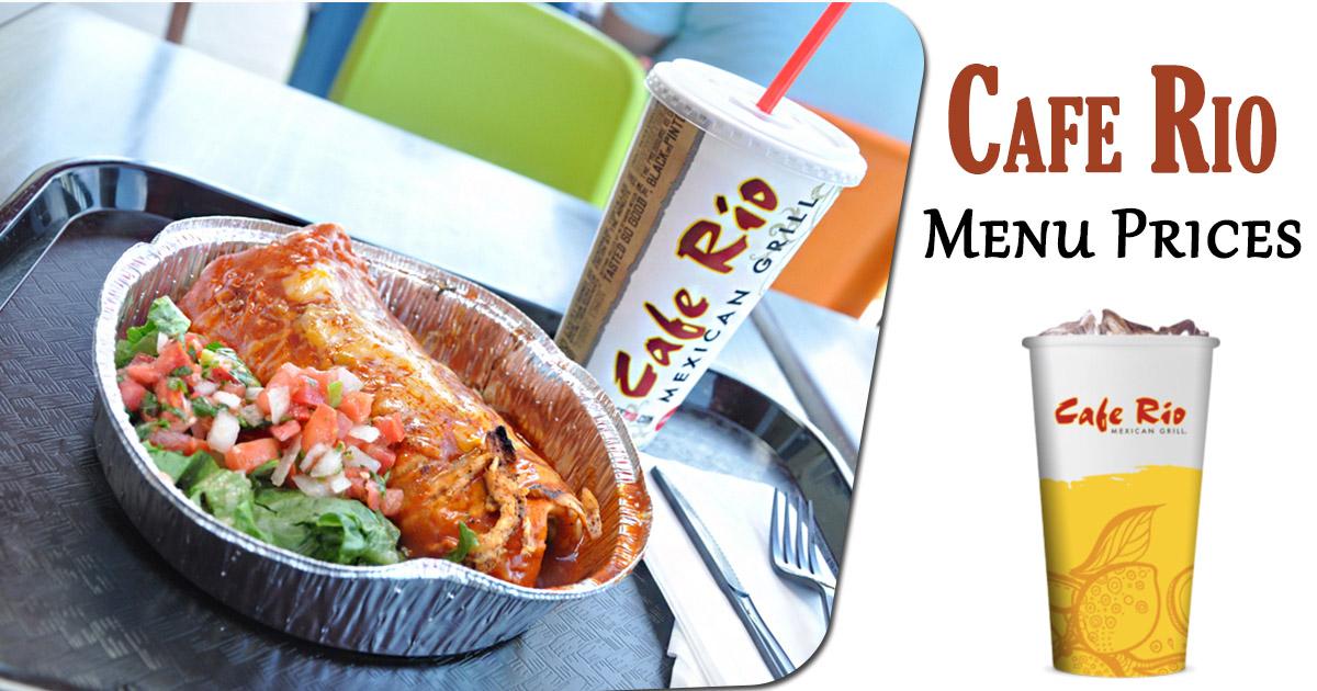 cafe rio menu prices image