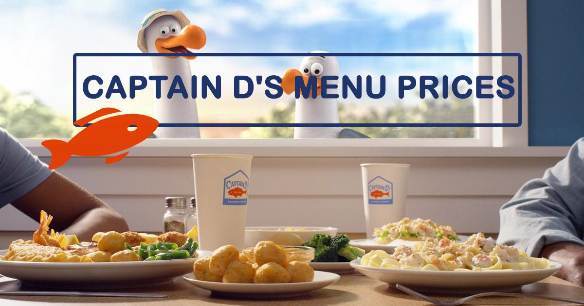 Captain D's Menu With Prices 2021
