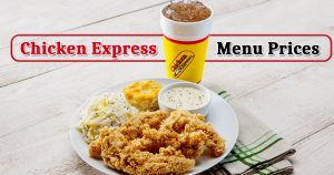 chicken express menu prices image