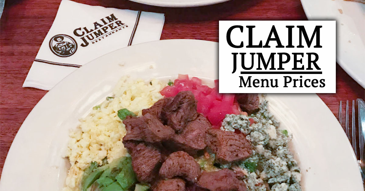 claim jumper menu prices image