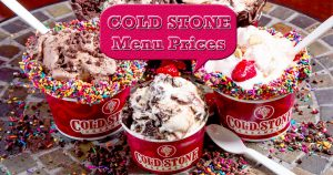 cold stone menu prices image