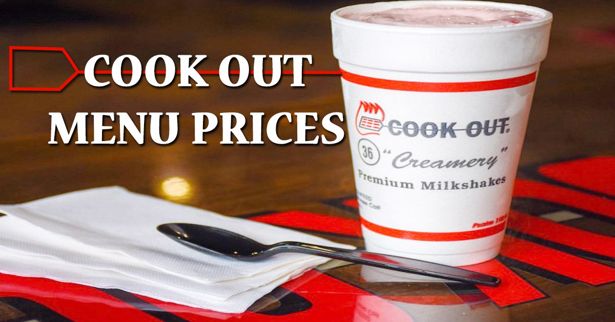 cookout menu prices image