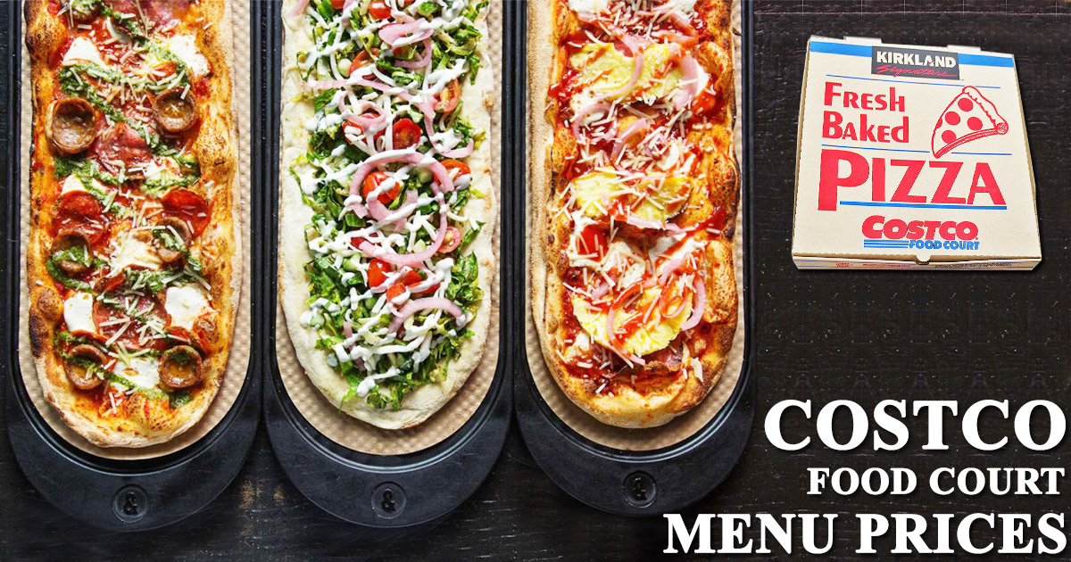 Costco Food Court Menu Prices Image