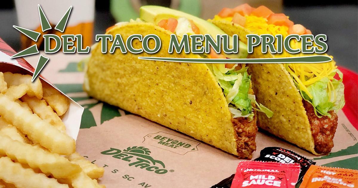 Del Taco Menu Prices Image