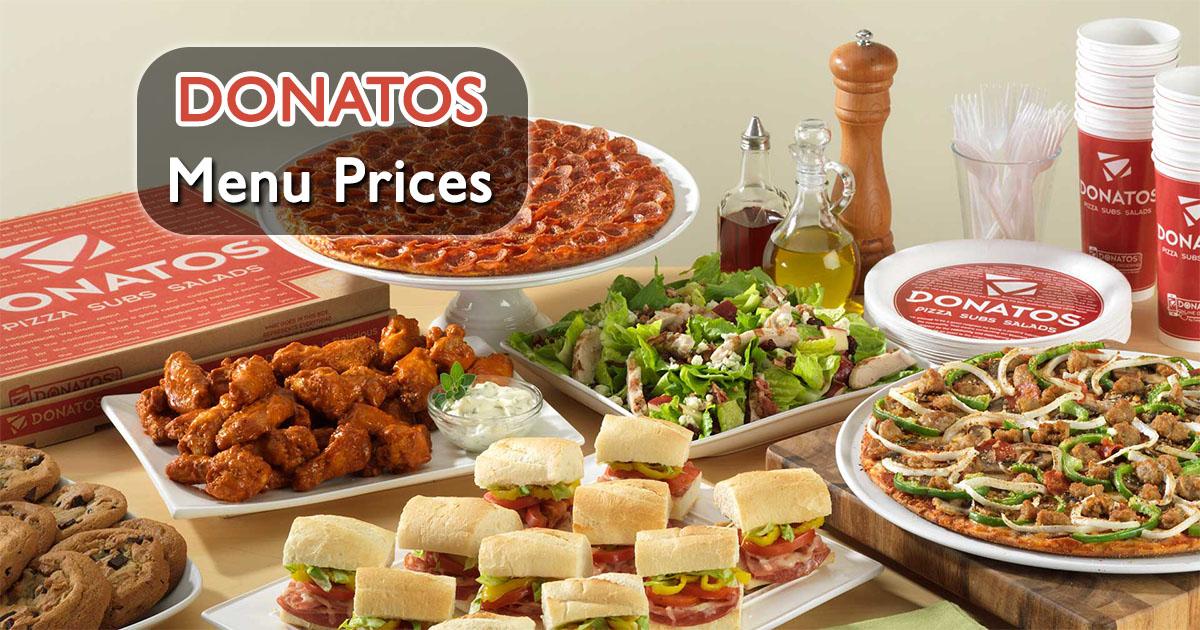 Donatos Menu Prices Image