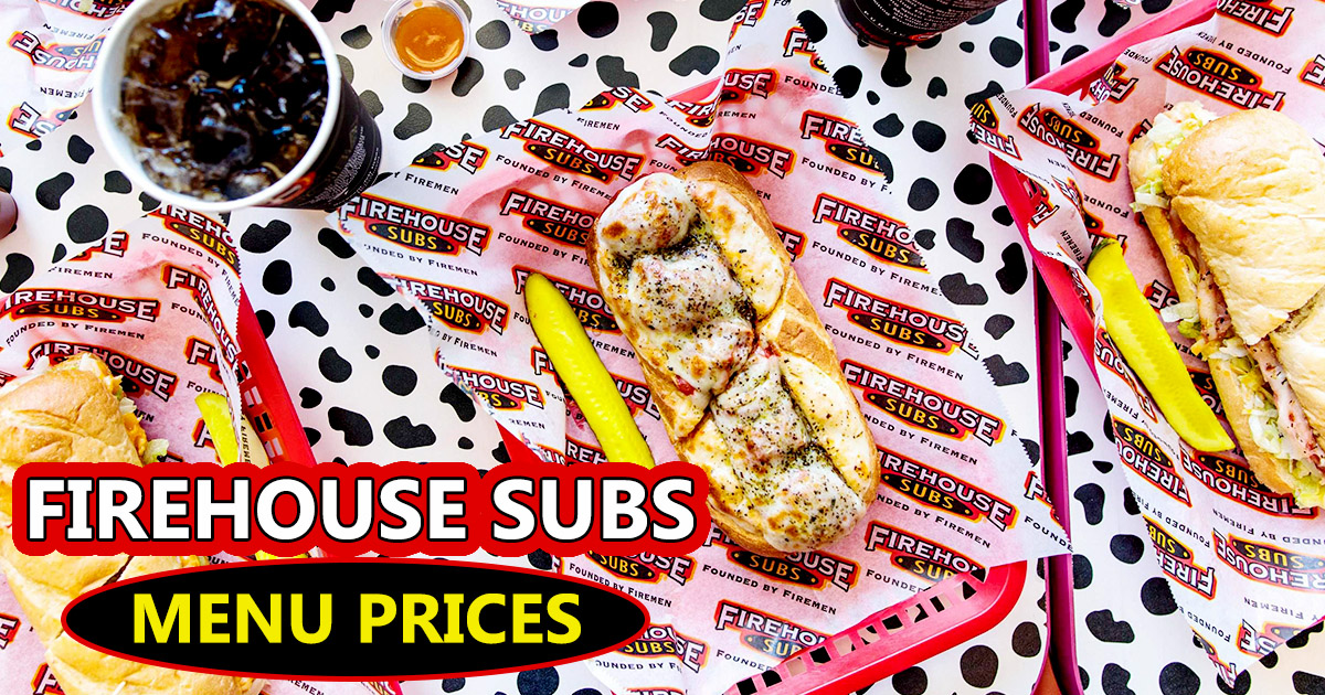 Firehouse Subs Menu Prices Image