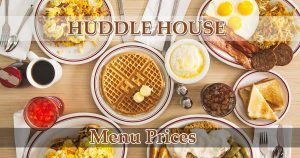 huddle house menu prices image