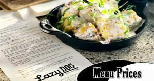 lazy dog menu prices image