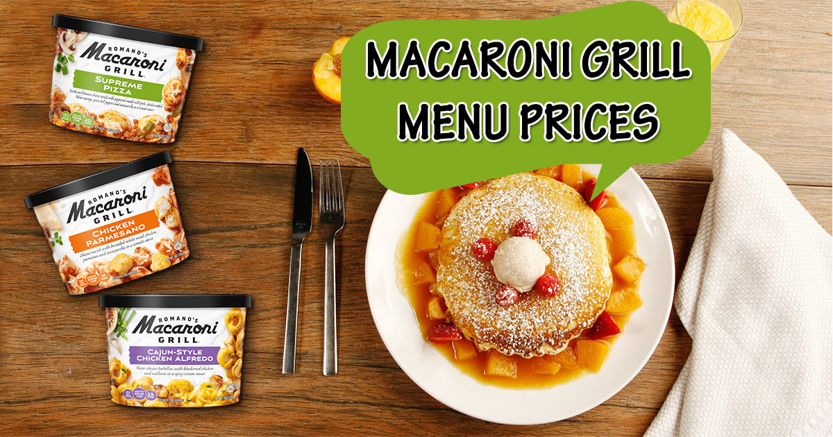 macaroni grill menu prices image