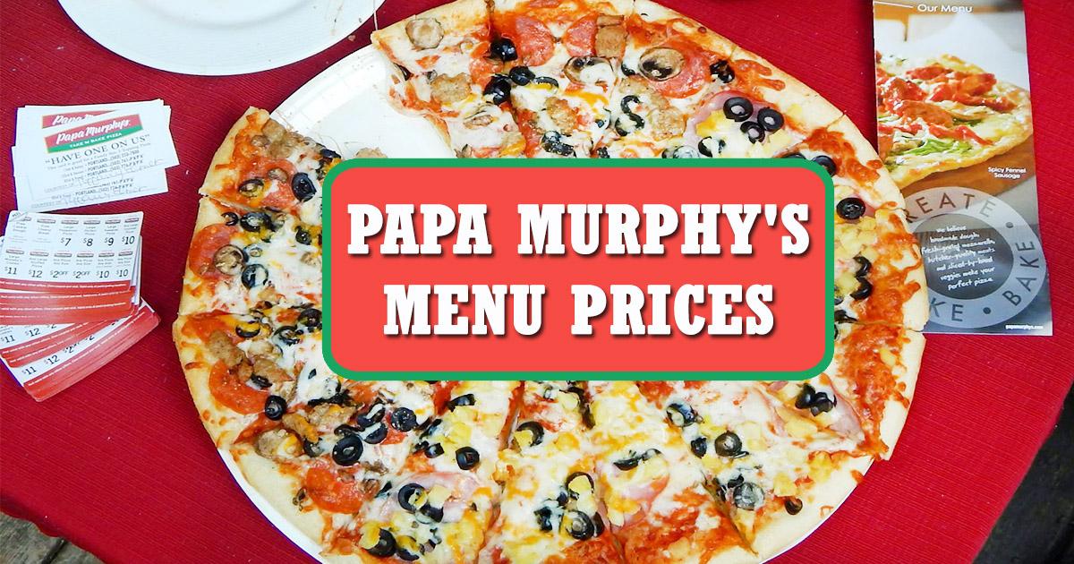Papa Murphy's Menu Prices Image
