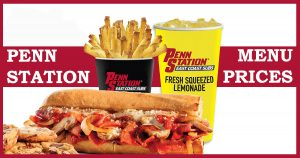 penn station menu prices image