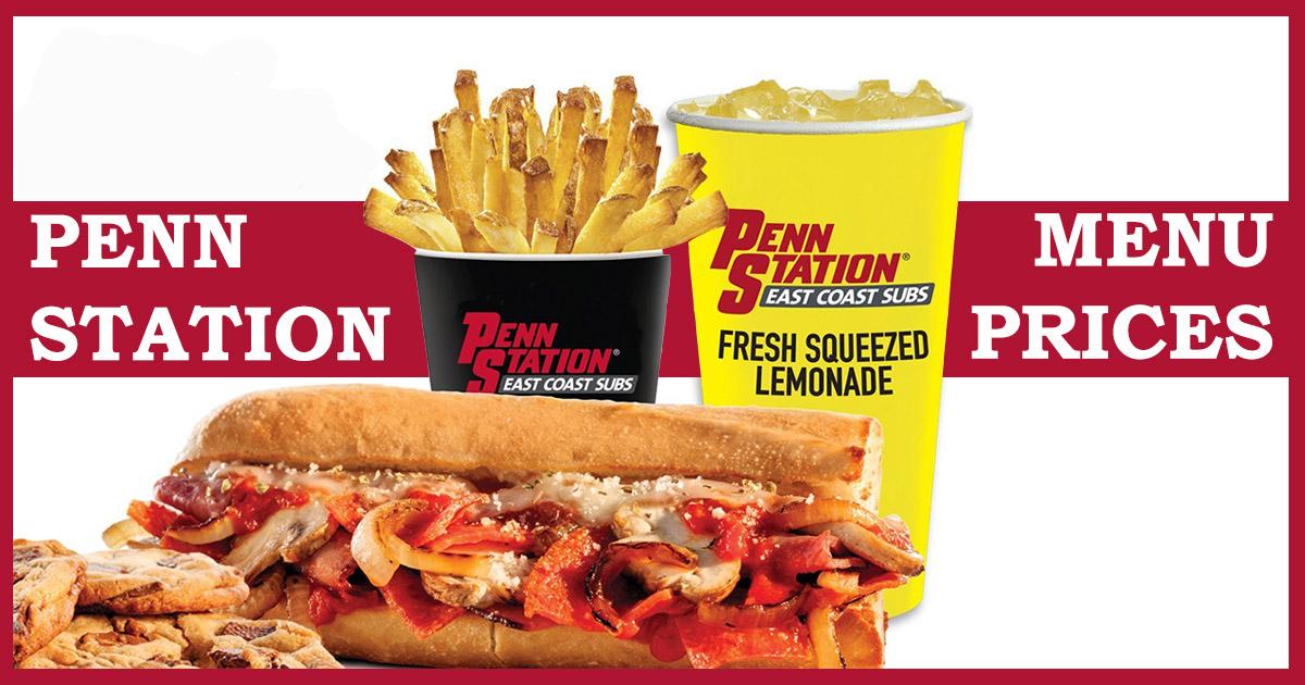 penn station menu prices image