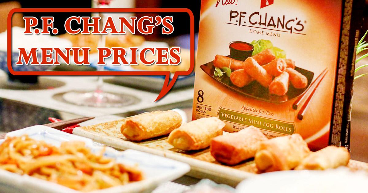 Pf Changs Menu Prices Image
