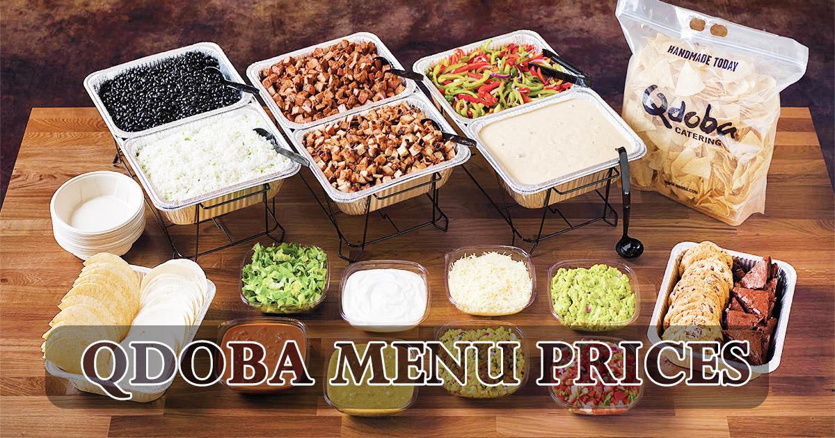 Qdoba Menu Prices Image