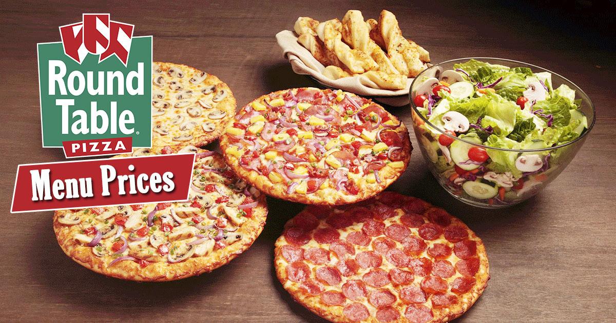 Round Table Menu Prices Image