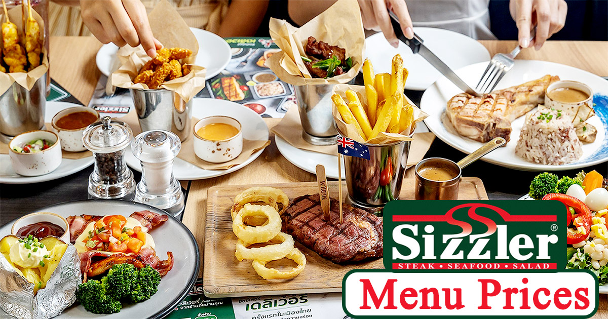 Sizzler Menu Prices Image