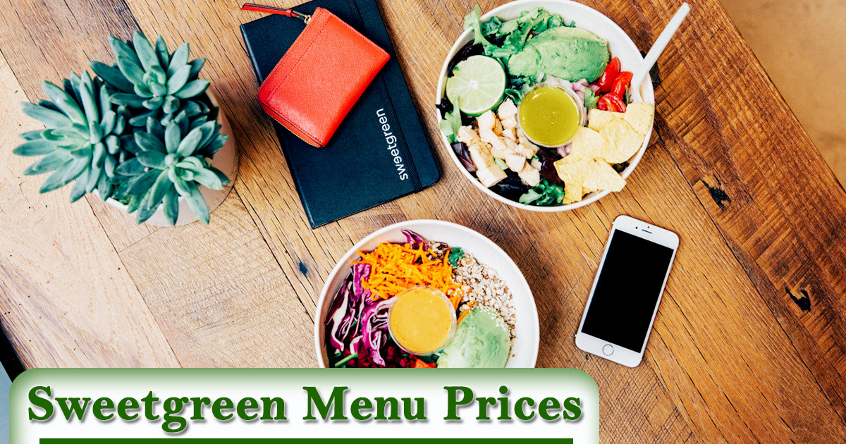Sweetgreen Menu Prices Image