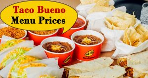 taco bueno menu prices image
