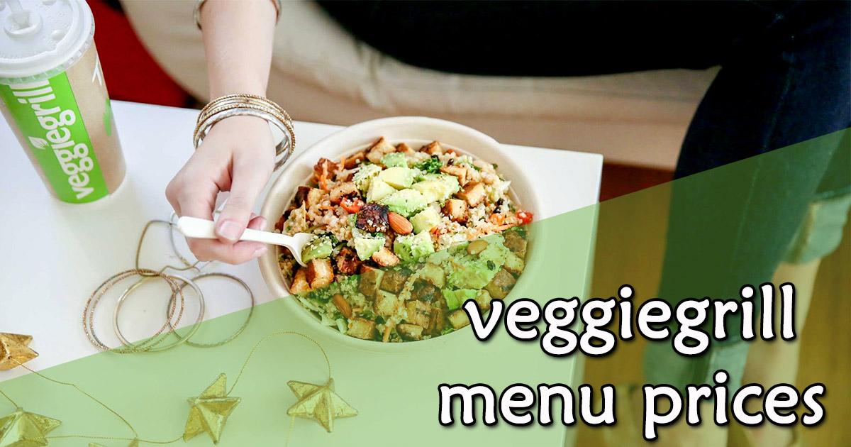 Veggie Grill Menu Prices Image