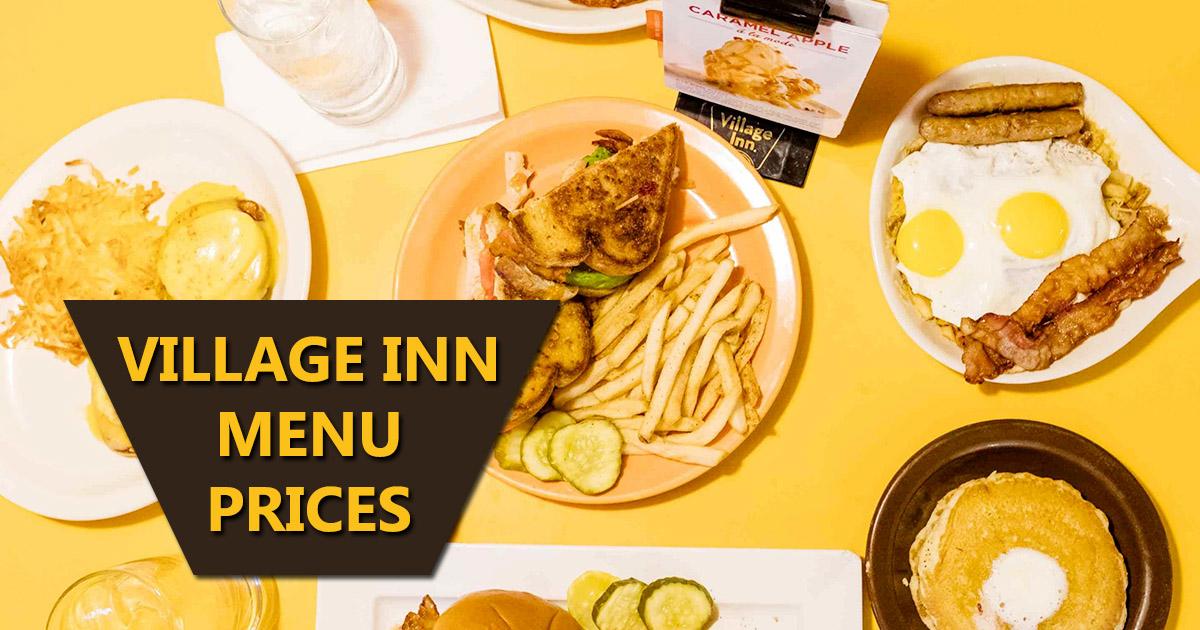 village inn menu prices image