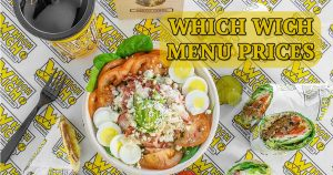 which wich menu prices image