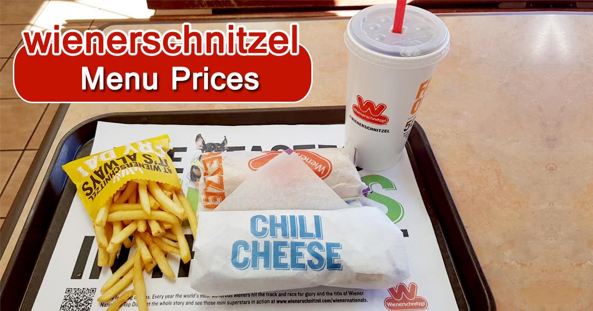 Wienerschnitzel Menu Prices Image