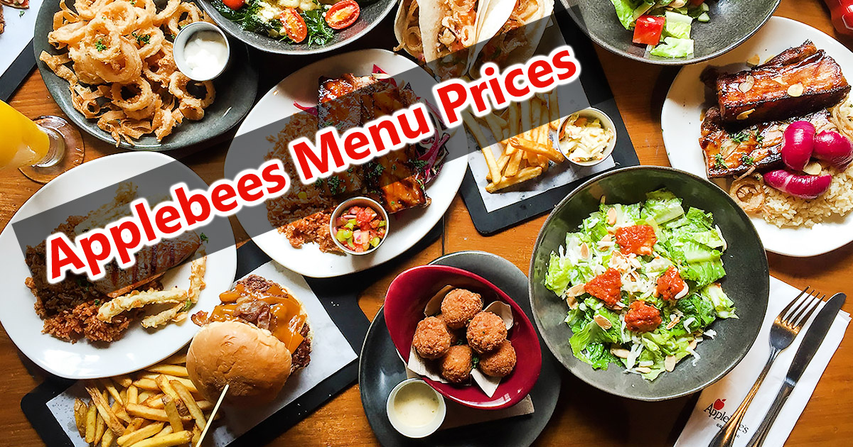 Applebees Menu Prices Image