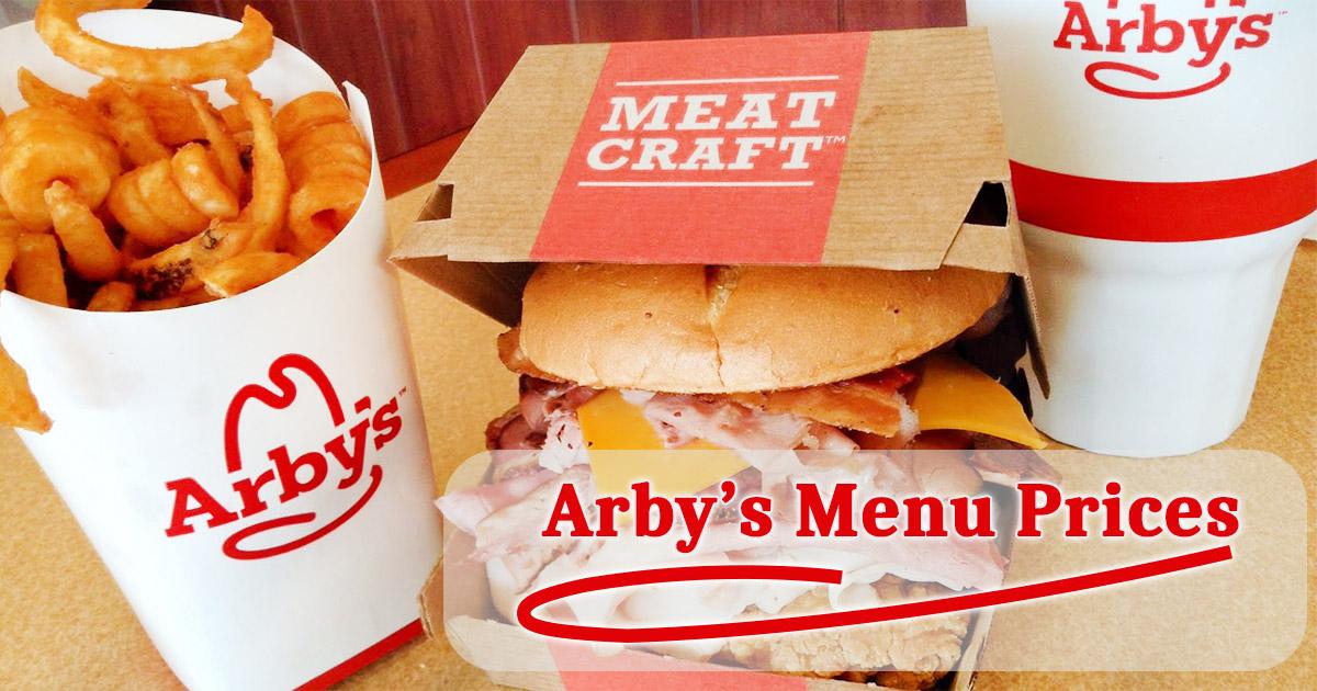 Arbys Menu Prices Image