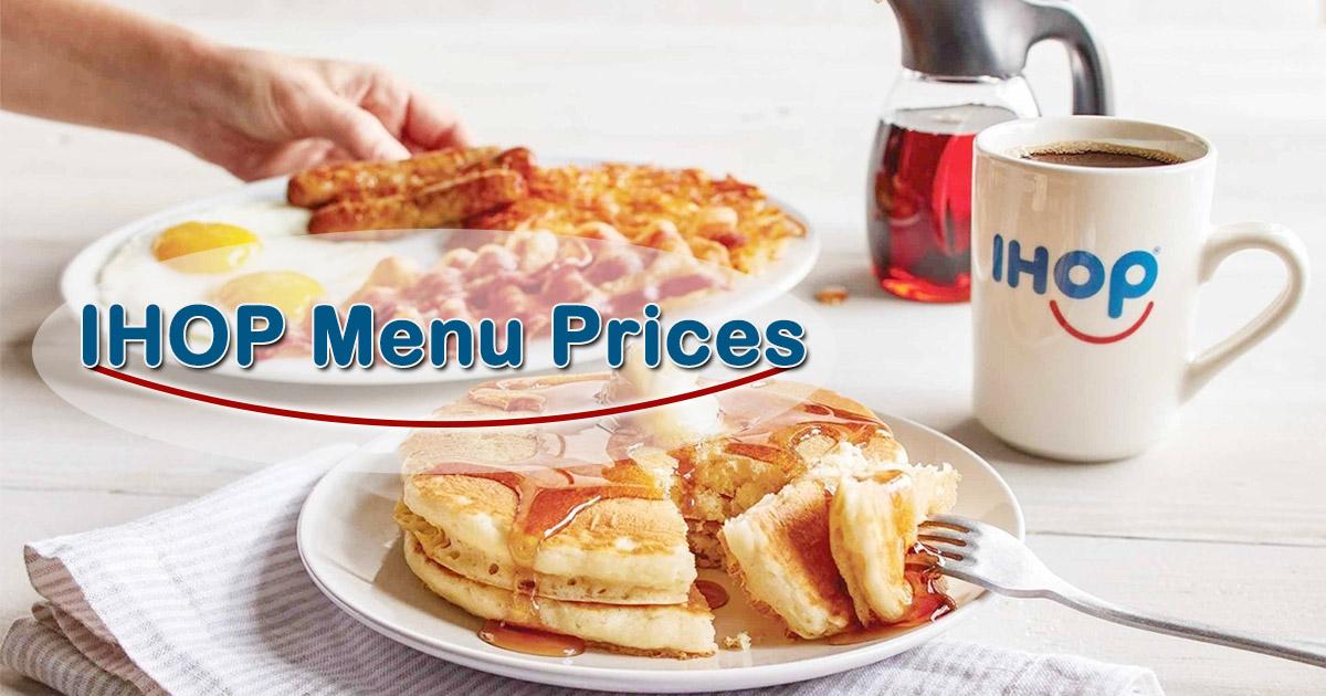 Ihop Menu Prices Image