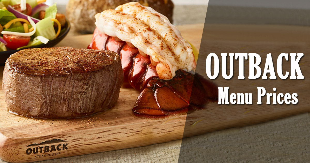 Outback Menu Prices Image