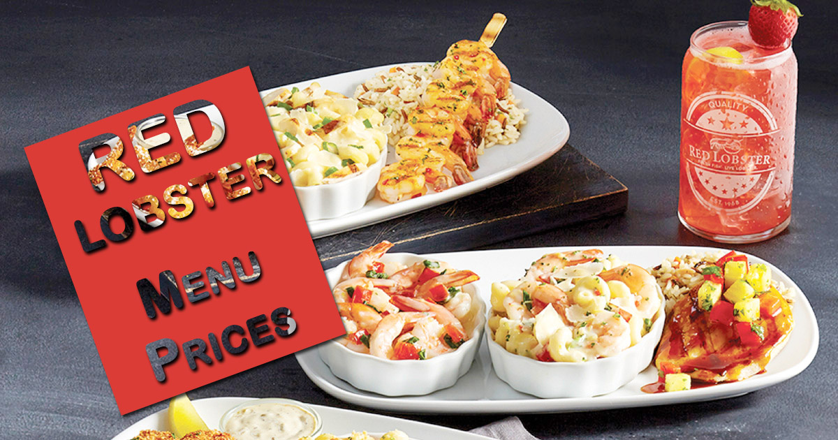 Red Lobster Menu With Prices 2021