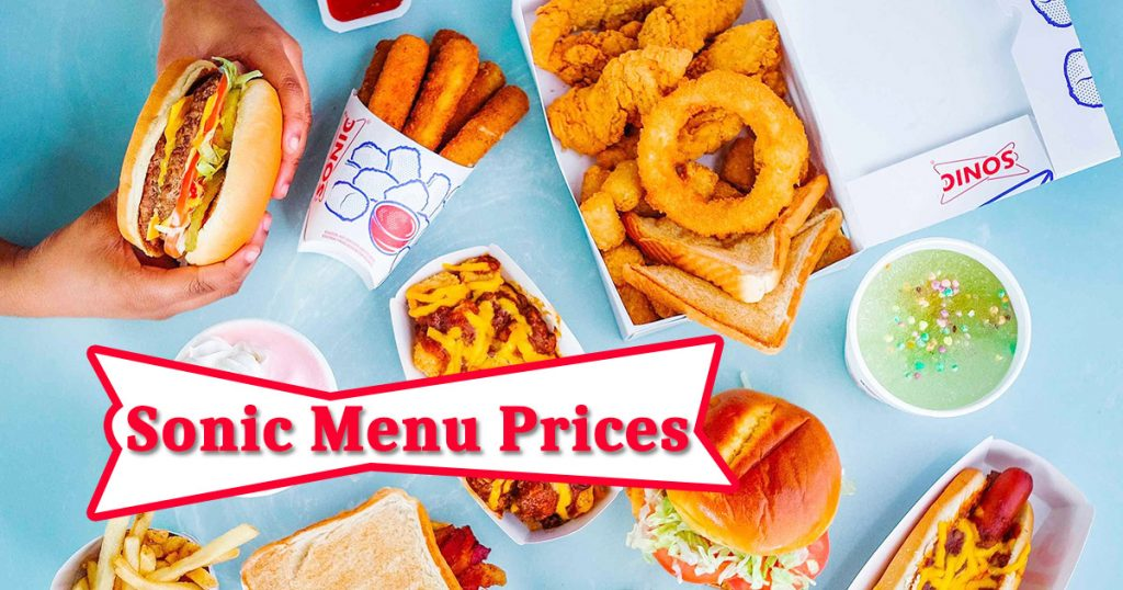 sonic half price shakes menu