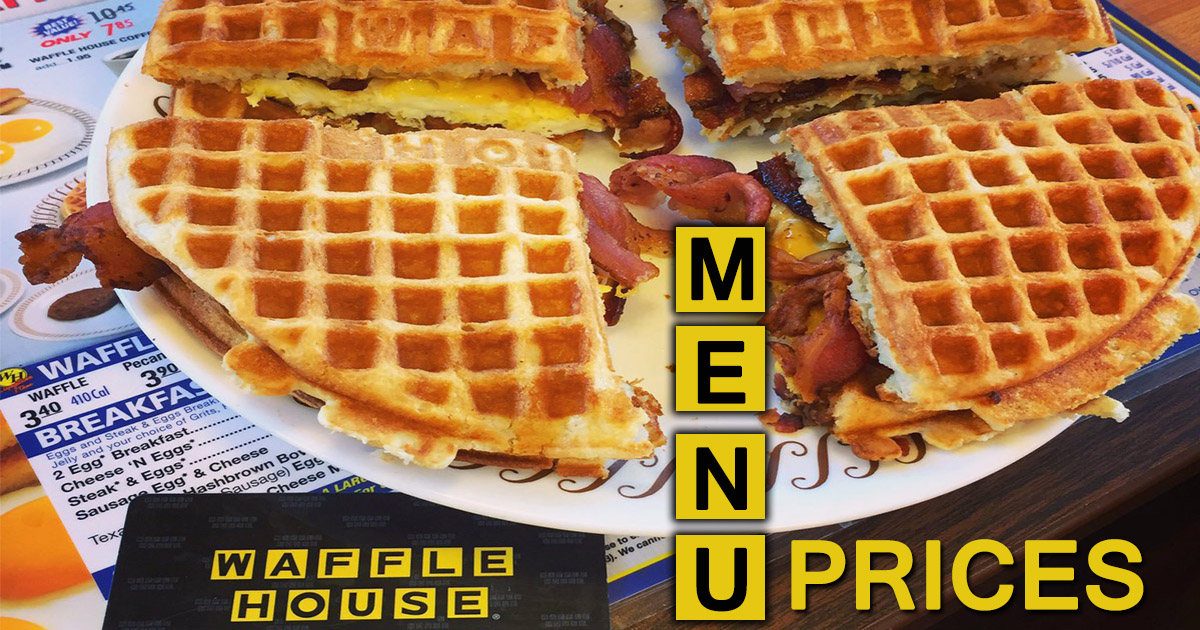 Waffle House Menu Prices Image