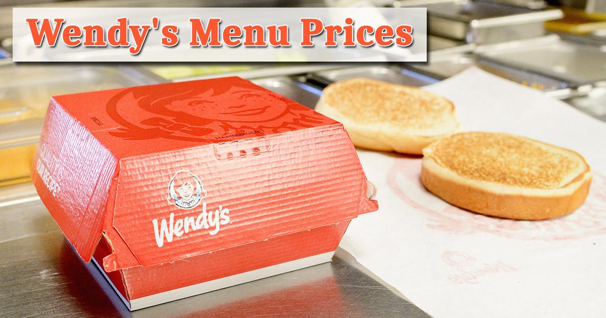 Wendy's Menu Prices Image